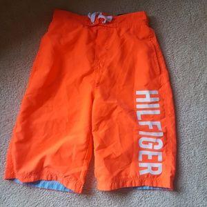 Tommy Hilfiger swim trunks boys size 12/14
